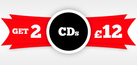 CDs 2 for £12