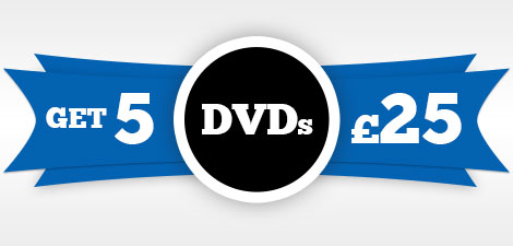 DVDs 5 for £25